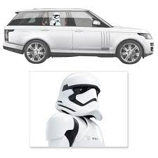 Star Wars The Force Awakens First Order Stormtrooper Window Wrap Passenger Series Car Decal Force Awakens Star Wars Awakens