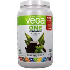 organic all in one shake chocolate mint