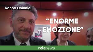 "Film Rocco Chinnici, Caterina: ""Enorme emozione"" - YouTube"