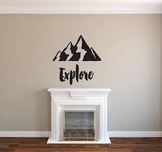 Explore Vinyl Decal Wall Art Decor Sticker Home Decor Cabin Study Airetgraphics