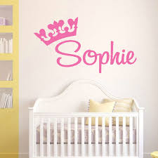 Personalised Rapunzel Tangled Inspired Wall Art Sticker Decal Leave Name