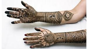 mehndi designs front and back hand