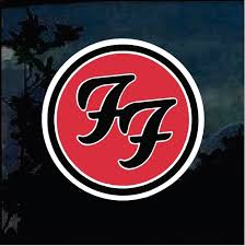 Foo Fighters Full Color Decal Band Stickers Custom Sticker Shop