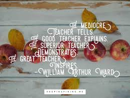 educational quotes about teaching and learning