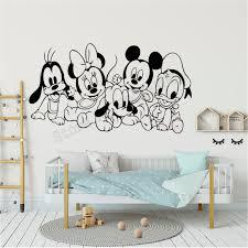 Minnie Mouse Daisy Duck Wall Stickers Kids Vinyl Print Poster Art Mural Decal