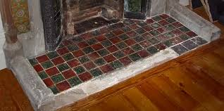 fireplace hearths in square plain