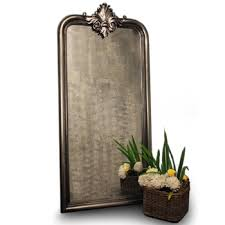 large decorative wall mirror with