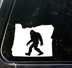 The Decal Store Com By Yadda Yadda Design Co Car Sasquatch Bigfoot Oregon Car Vinyl Decal 5 W X 4 H Co