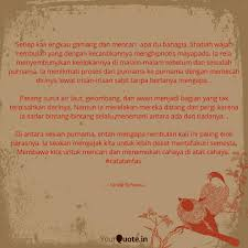 setiap kali engkau gam quotes writings by farida sofwana