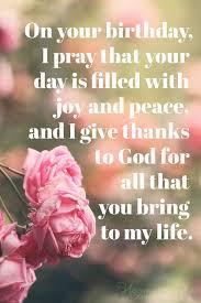 inspirational birthday prayers for friends family