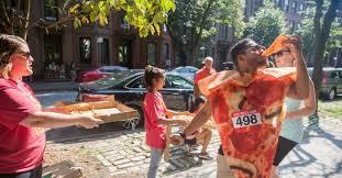 sponsors 9th annual new york city pizza run