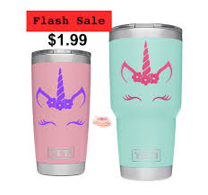 A Personal Favorite From My Etsy Shop Https Www Etsy Com Listing 591376355 Unicorn Yeti Decal Unicorn Decal Yeti Yeti Decals Yeti Cup Designs Tumbler Decal
