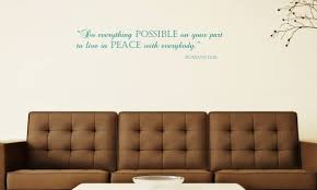 Living Room Wall Decal Personalized Name Wall Decal Living Etsy