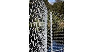 Bayonet Chain Link Fence Netting Zinc Aluminium By Paul Industries Eboss