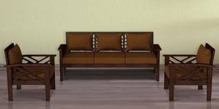 hamilton teak wood sofa set 3 1 1