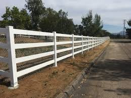White Vinyl And Chain Link Legend Fence Corp
