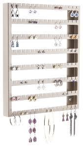 hanging jewelry organizer wall mount