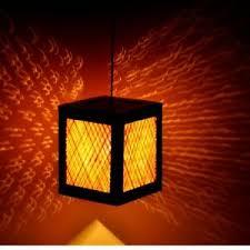 ceiling pendant light square lamp shade