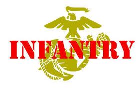 Usmc Infantry Vinyl Decal Marines Marine Corps Eagle Etsy