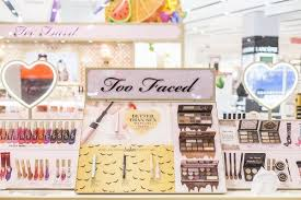 cosmetics brand too faced opens first