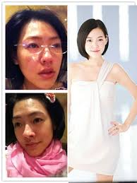 chinese actresses without makeup