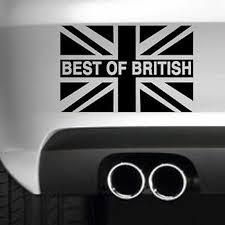 Best Of British Flag Car Bumper Sticker Funny Drift Jdm 4x4 Vinyl Wall Art Jdm Drift Bumper Stickercar Bumper Sticker Aliexpress