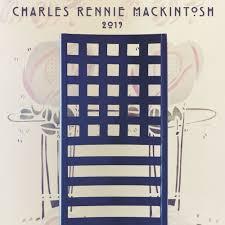 charles rennie mackintosh 2019 wall