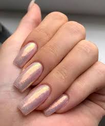 acrylic nails instyle pink