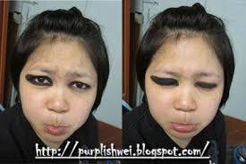 purplishwei makeup gone wrong