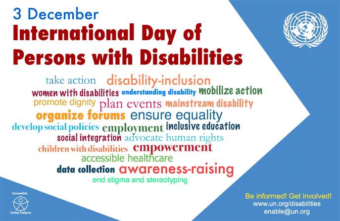 Image result for world day of the handicapped""