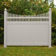 Weatherables Halifax 6 Ft H X 8 Ft W White Vinyl Privacy Fence Panel Kit Pwpr Ots 6x8 The Ho In 2020 Privacy Fence Designs Privacy Fence Panels Vinyl Privacy Fence