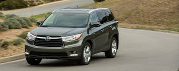 2016 toyota highlander has seating for