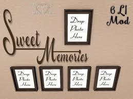 Second Life Marketplace Thd Sweet Memories Wall Decal W Frames