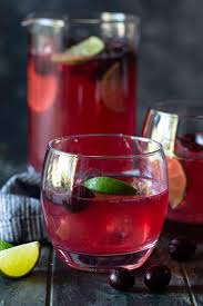 easy cranberry vodka punch recipe for