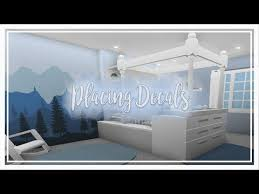 Bloxburg How To Place Wall Decals Youtube Baby Room Neutral Two Story House Design Futuristic Home
