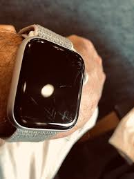 scratched apple watch 4 screen