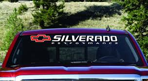 Product Chevy Silverado 1500 2500 3500 Windshield Decal Banner Any Year Make