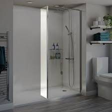 orchard 6mm wet room fixed return panel