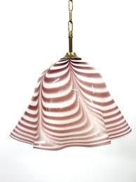 vintage murano glass pendant light