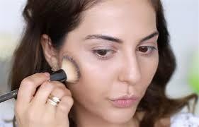 diy makeup tutorials apply bronzer