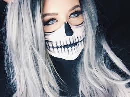skeleton face paint tutorial for