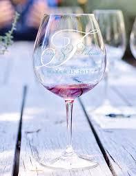 wedding day wine glass decal wedding