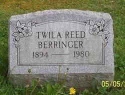Twila Reed Berringer (1894-1980) - Find A Grave Memorial