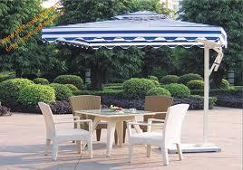 aluminum side stand patio umbrella