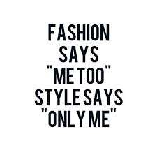 "stealthelook #instagram Fashion Says ""Me too"", Style Says ""Only Me ..."