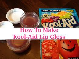 how to make kool aid lip gloss cly