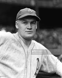 A portrait of Edgar Smith of the Philadelphia Athletics in 1938 ...