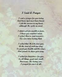 short prayer poems