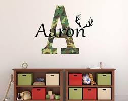 Camo Wall Decals Etsy