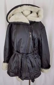 faux fur lined tie sash jacket